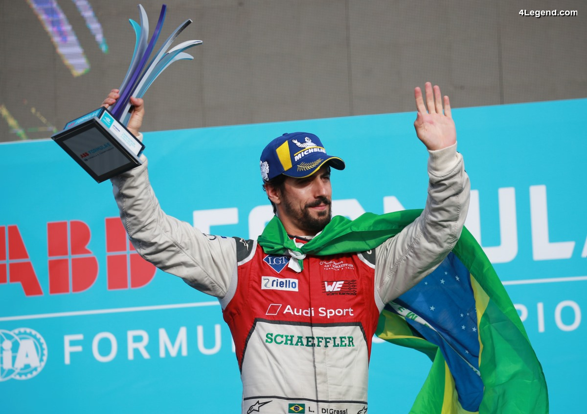 Formule E - Un nouveau podium pour Audi et Lucas di Grassi à Punta del Este