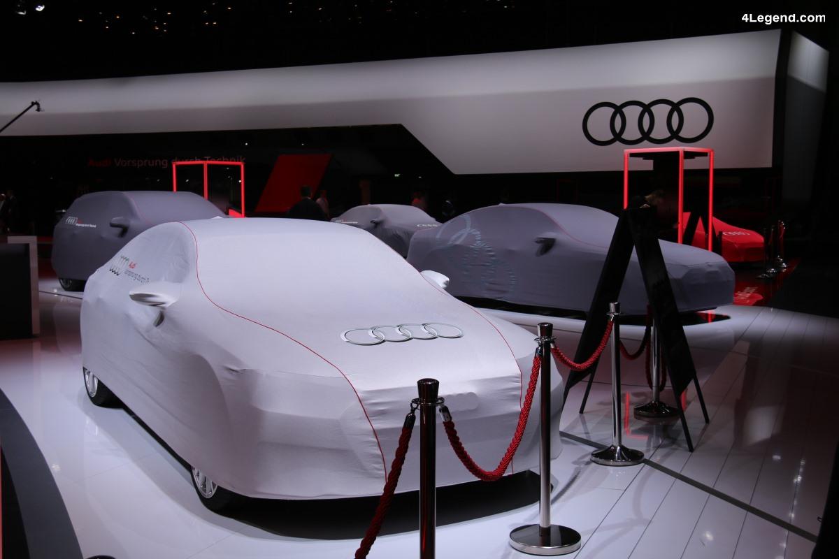Genève 2018 - Preview du stand Audi avec l'Audi A6 berline en vedette
