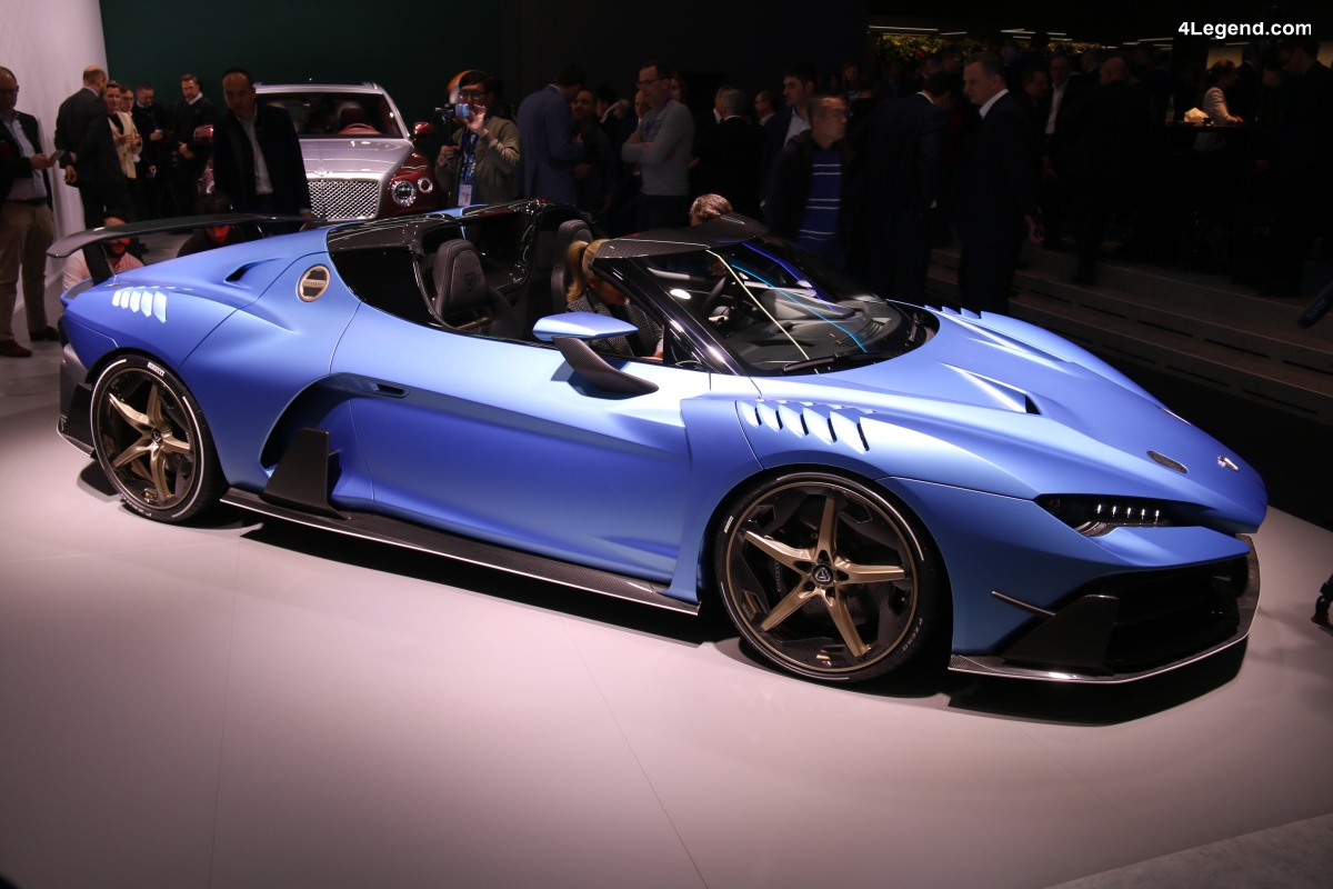 Genève 2018 - Preview Italdesign Zerouno Duerta à la Volkswagen Group Night
