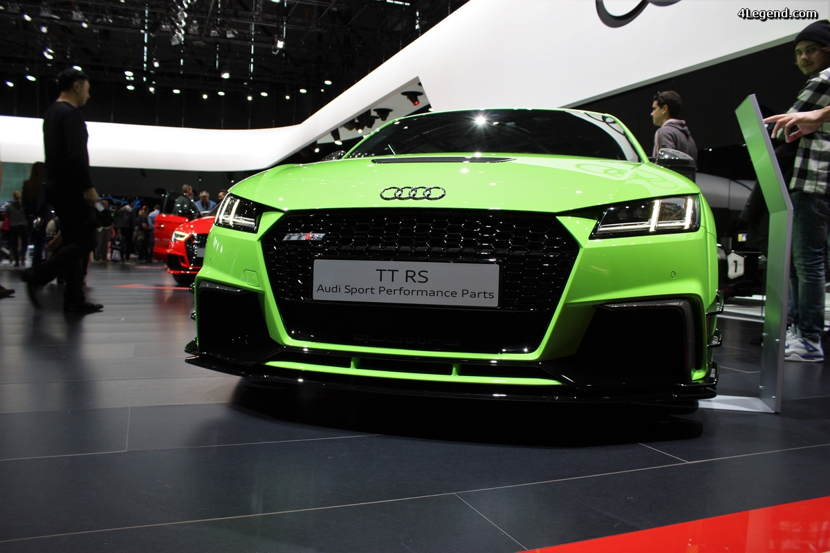 Genève 2018: Audi TT RS Audi Sport Performance Parts