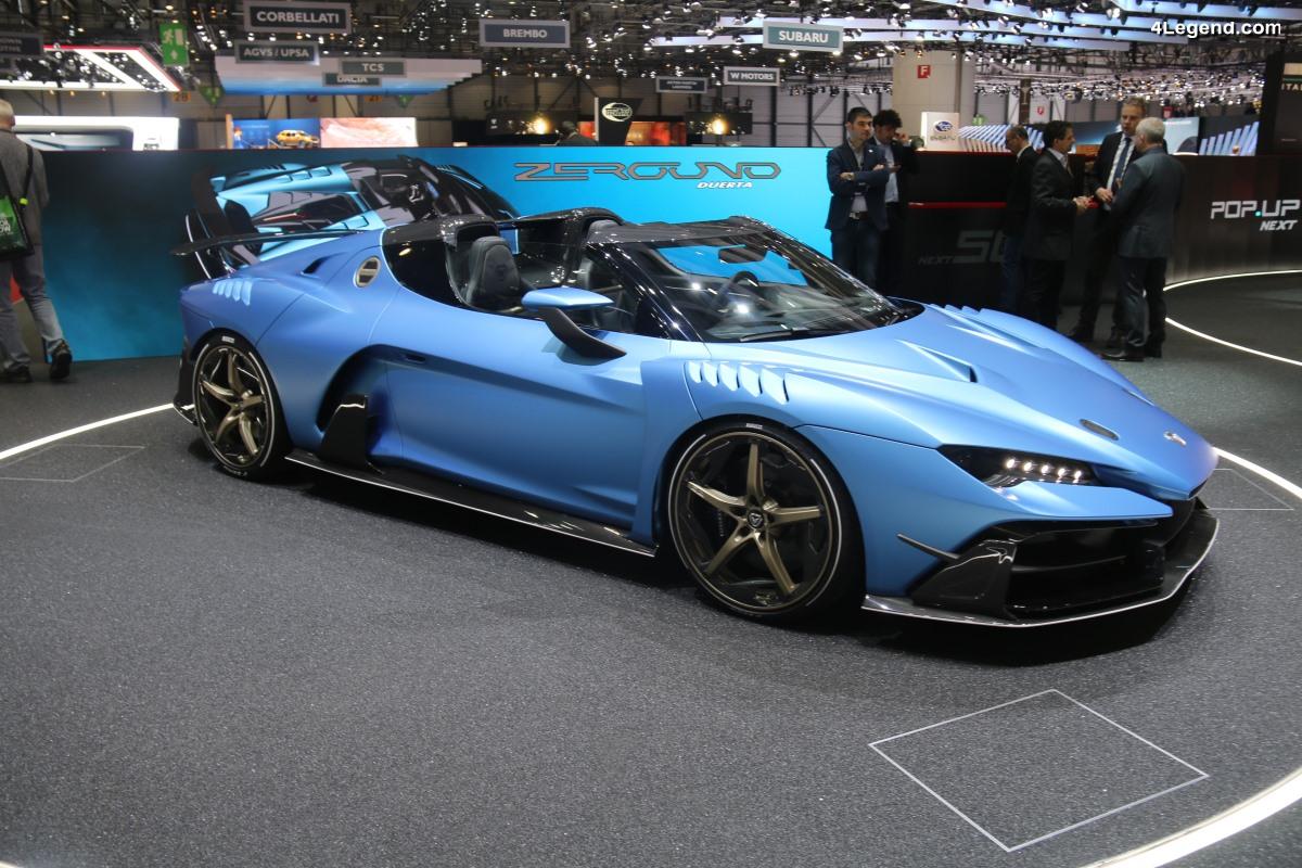 Italdesign Automobili Speciali Zerouno Duerta dévoilé au salon de Genève 2018 - Limité à 5 exemplaires