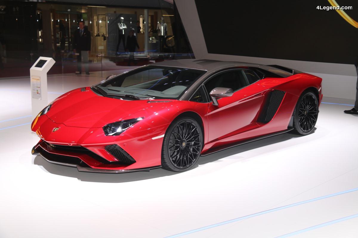 Genève 2018 - Lamborghini Aventador S en carbone personnalisée par Ad Personam