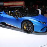 Lamborghini Huracán Performante Spyder – Levé de rideau à Genève 2018