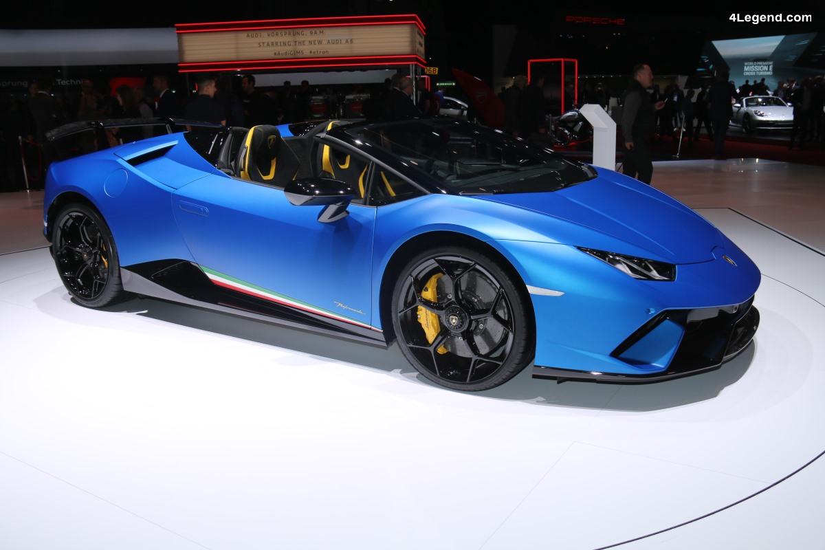 Lamborghini Huracán Performante Spyder - Levé de rideau à Genève 2018