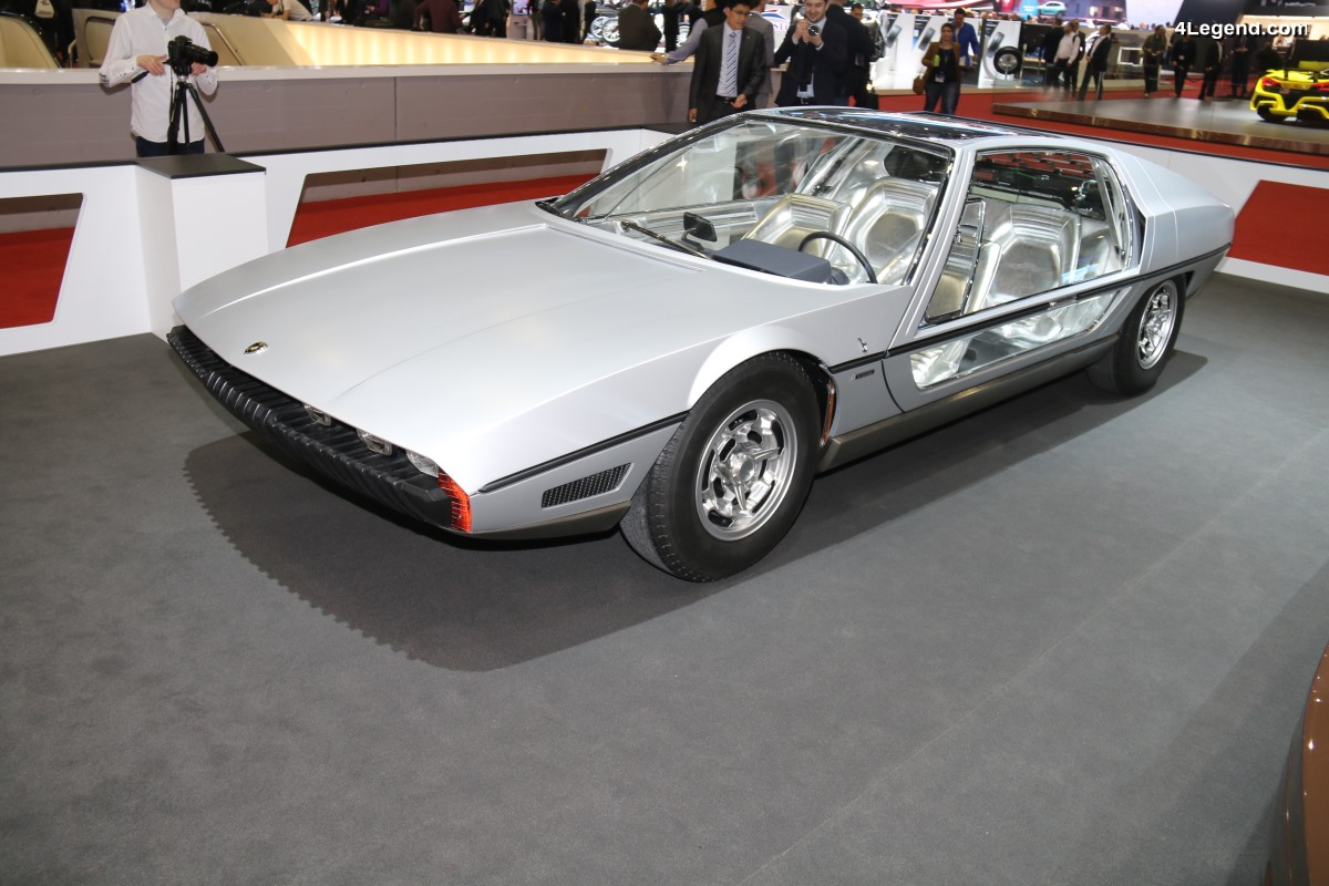 Lamborghini Marzal de 1967 réalisé par Bertone au salon de Genève 2018