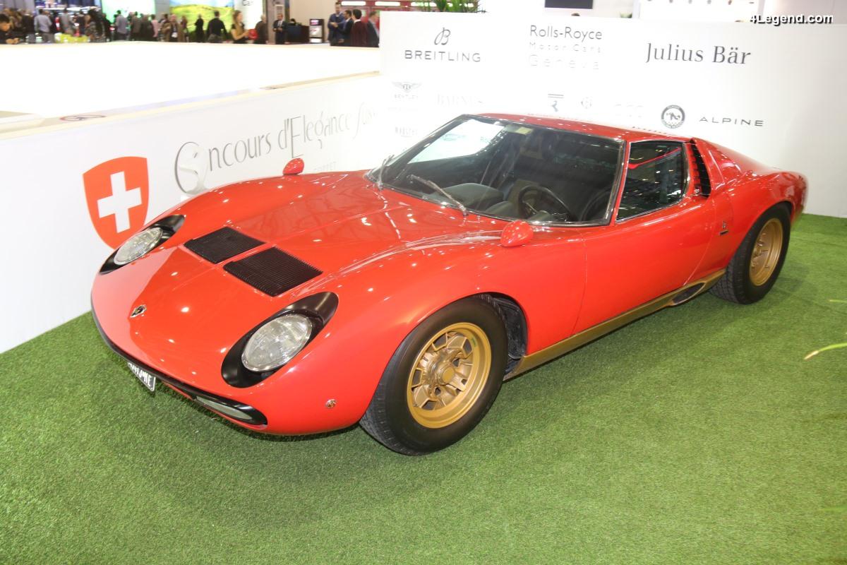Genève 2018 - Lamborghini Miura SV de 1971