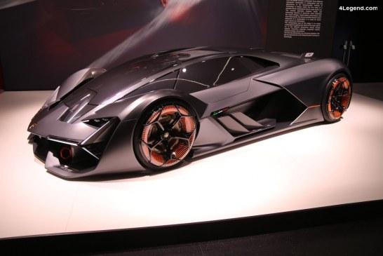 Lamborghini Terzo Millennio à la Volkswagen Group Night du salon de Genève 2018