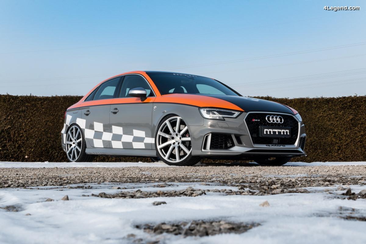 MTM RS3 R Clubsport - Une Audi RS 3 berline développant 572 ch (421 kW) & 672 Nm