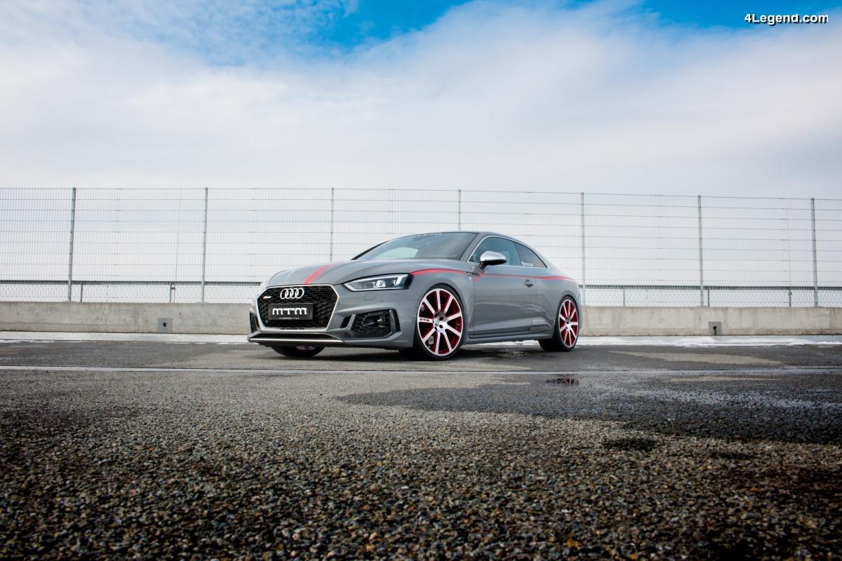 MTM RS5 R - Une Audi RS 5 Coupé dopée aux hormones : 532 ch & 700 Nm