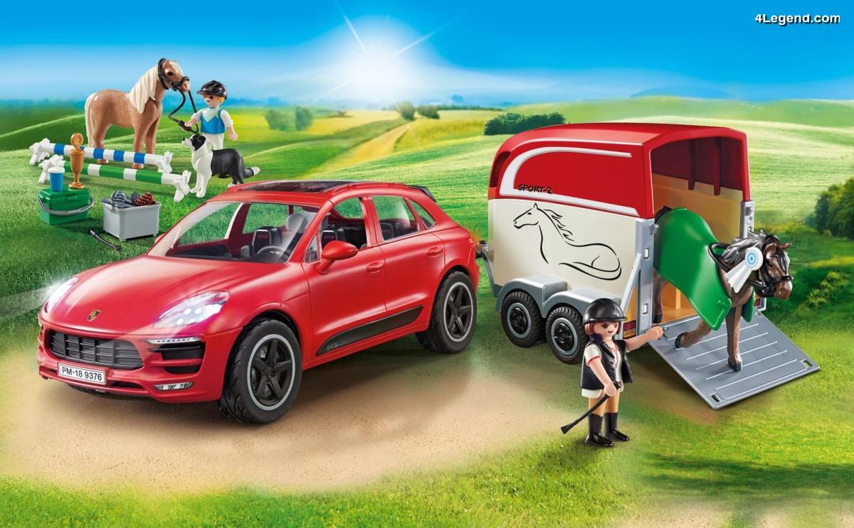 Playmobil Porsche Macan GTS (9376) - Playmobil propose un quatrième modèle Porsche
