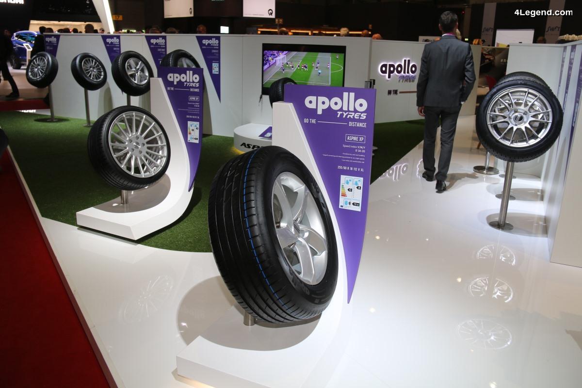 Nouveau pneu été Apollo Aspire XP présenté au salon de Genève 2018