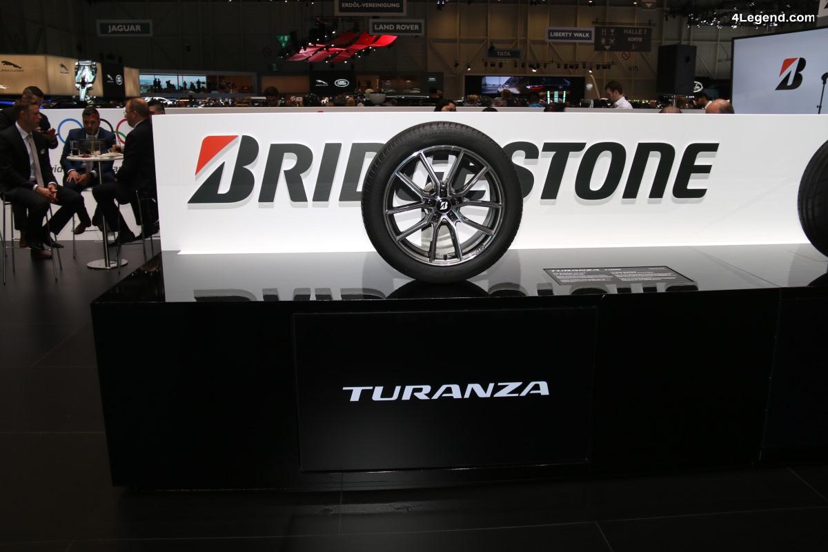 Le nouveau pneu Bridgestone Turanza T005 en première monte sur la nouvelle Audi A7 Sportback - Genève 2018