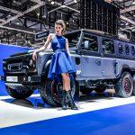 Nouveaux pneus Cooper Tires & Chelsea Truck Company Civilian 6×6 Defender au salon de Genève 2018
