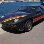 L'ancienne Porsche 928 S de 1982 de S.A.S. le Prince de Monaco