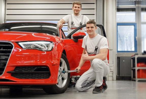 La prime d'intéressement Audi passe à 4770 euros par employé Audi pour l'exercice 2017