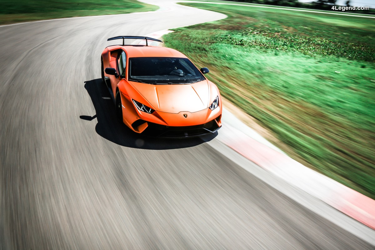 Huits records sur des circuits internationaux pour la Lamborghini Huracán Performante