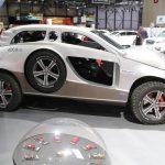 Sbarro 4X4+2 ayant pour base le Porsche Cayenne au salon de Genève 2018