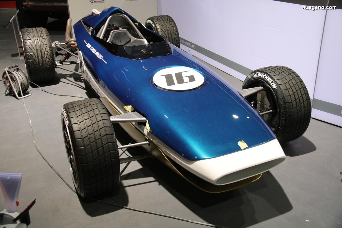 Genève 2018 - Sbarro Rush - Un revival de Formule 1 motorisé par un V8 Audi de 400 ch