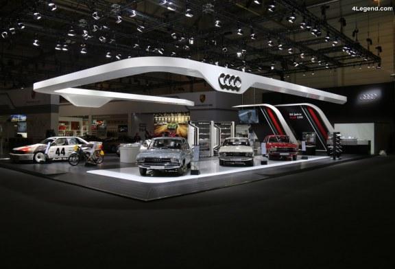TCE 2018 – Audi Tradition célèbre 3 jubilées à Essen