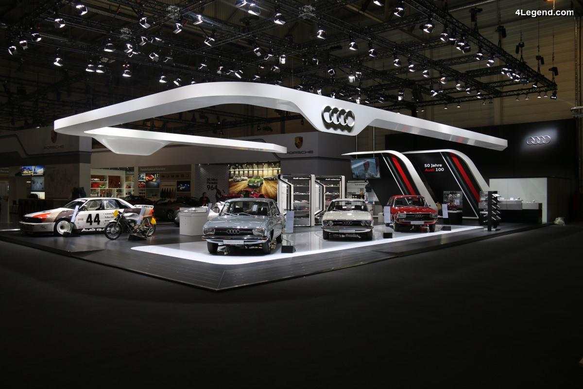 TCE 2018 - Audi Tradition célèbre 3 jubilées à Essen