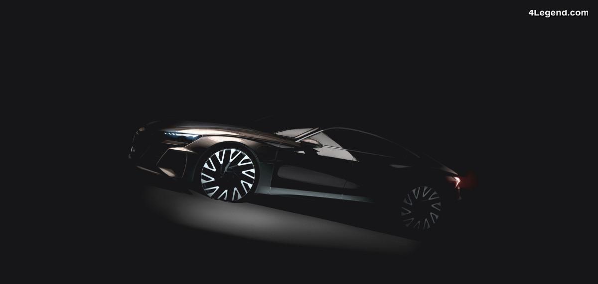 Audi e-tron GT - La future berline sportive électrique fabriquée par Audi Sport en 2020