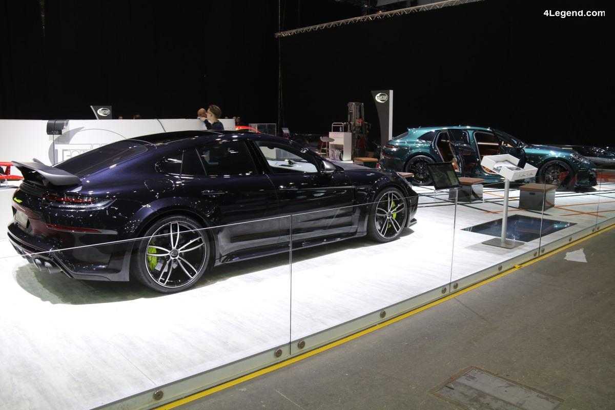 Genève 2018 - Techart GrandGT : une réinterprétation de la Porsche Panamera