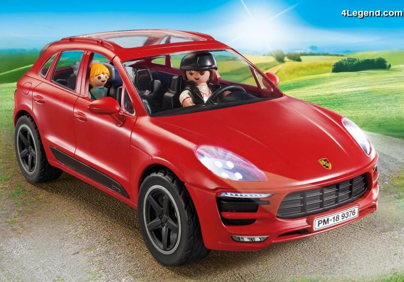 playmobil porsche macan gts 9376 playmobil propose un quatri me mod le porsche. Black Bedroom Furniture Sets. Home Design Ideas
