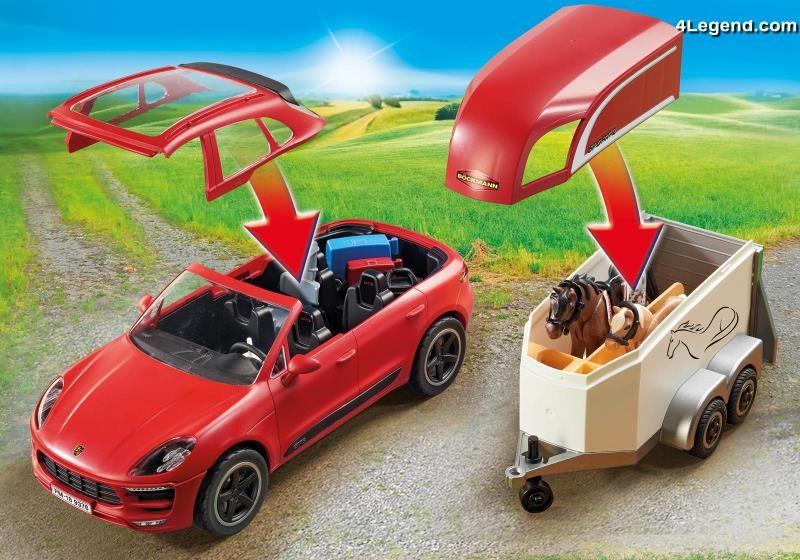 Playmobil Porsche Macan Gts 9376 Playmobil Propose Un Quatri 232 Me Mod 232 Le Porsche 4legend Com