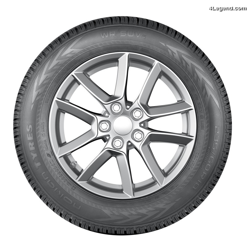 nouveau pneu hiver nokian wr suv 4 un pneu sp cifique pour suv afin d 39 affronter l 39 hiver. Black Bedroom Furniture Sets. Home Design Ideas