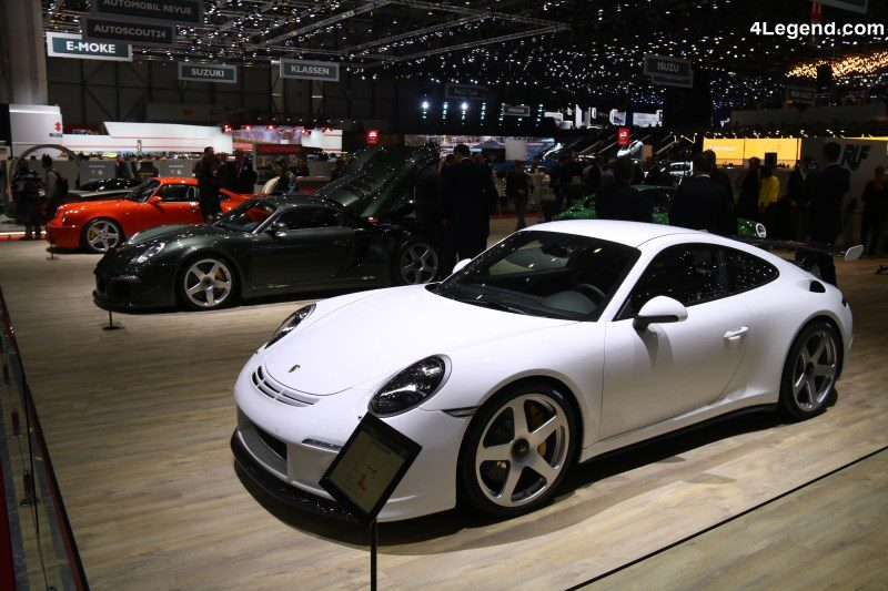 Ruf rtr facelift carrosserie troite au salon de gen ve for Salon de prostitution geneve
