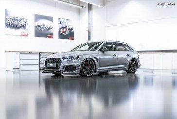 ABT RS4-R – Une Audi RS 4 Avant délivrant 530 ch avec un kit carrosserie accentuant sa sportivité