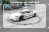 Porsche présente l'application « Mission E Augmented Reality »