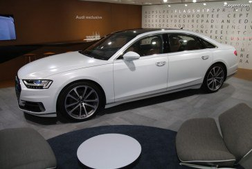 Audi A8 L 55 TFSI quattro by Audi exclusive au salon de Genève 2018