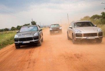 Test d'endurance final pour le nouveau Porsche Cayenne hybride en Afrique du Sud