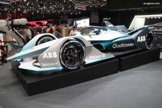 Nouvelle Formule E GEN2 dévoilée au salon de Genève 2018 avec de nouveaux pneus Michelin