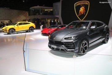 Des Lamborghini Urus présentés pour la première fois au salon de Genève 2018