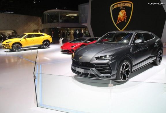 Lamborghini sera présent au Paris Motor Show 2018 via la concession Lamborghini Paris