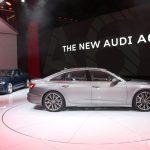 Audi sort le grand jeu pour la présentation de la nouvelle Audi A6 berline à Genève 2018
