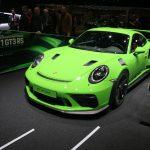 Première mondiale de la nouvelle Porsche 911 GT3 RS à Genève 2018