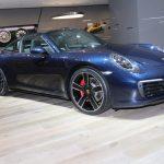 Porsche 911 Targa 4S fortement personnalisée par Porsche Exclusive Manufaktur à Genève 2018