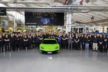 Record de production pour Automobili Lamborghini : 10 000 Huracán produits en quatre ans