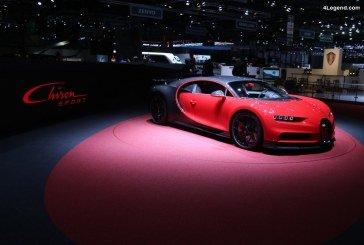 Dans les coulisses du stand Bugatti à Genève 2018