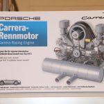 TCE 2018 – Miniature du moteur Porsche Carrera Fuhrmann Flat 4 Type 547 par Franzis