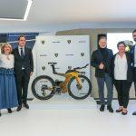 Cervélo P5X Lamborghini edition : Lamborghini et Cervélo dévoilent leur vélo de triathlon en édition limitée à Genève 2018