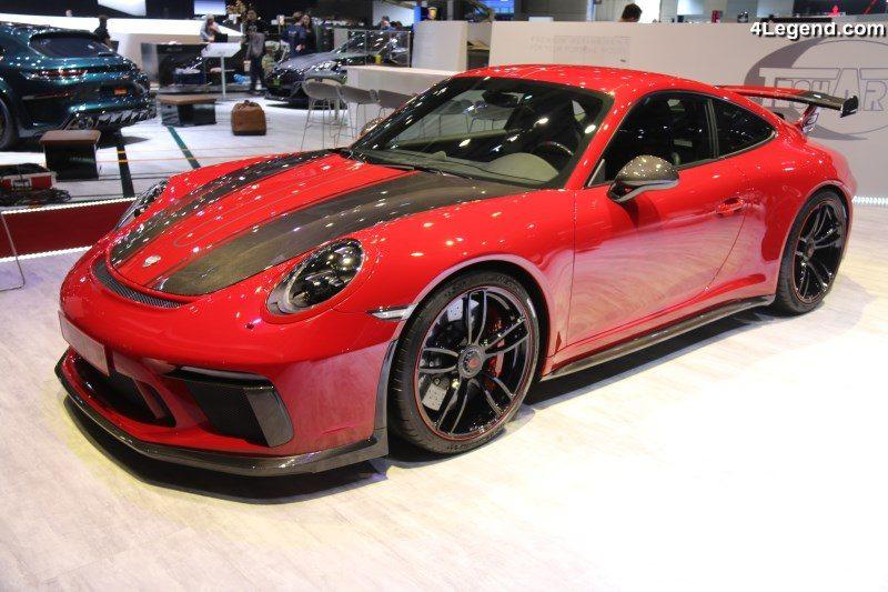 pack sport carbone techart pour la porsche 911 gt3 gen ve 2018. Black Bedroom Furniture Sets. Home Design Ideas