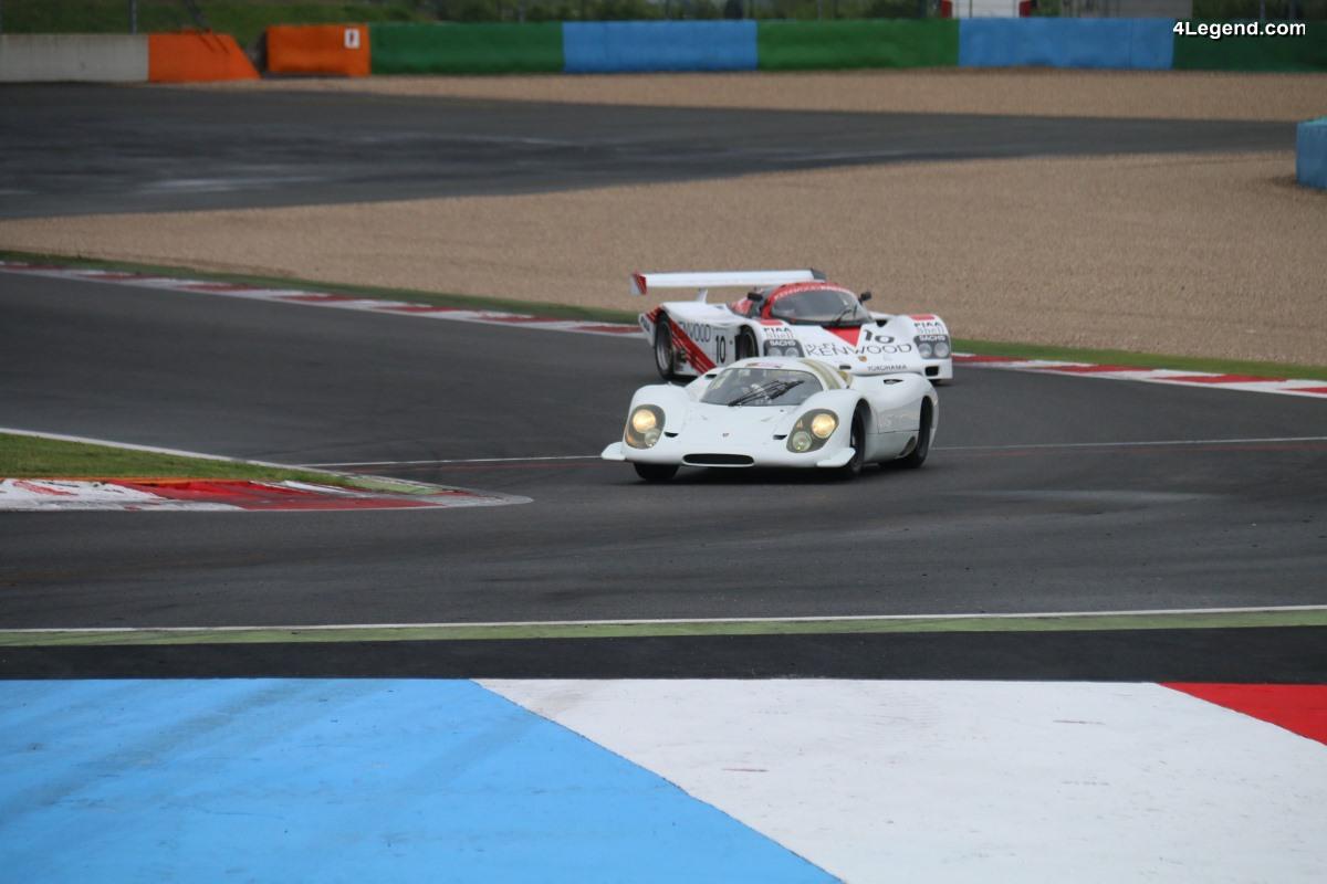 70 ans de Porsche au Classic Days 2018 - Des Porsche de course sur la piste - Phénoménal !!! (1ère partie)