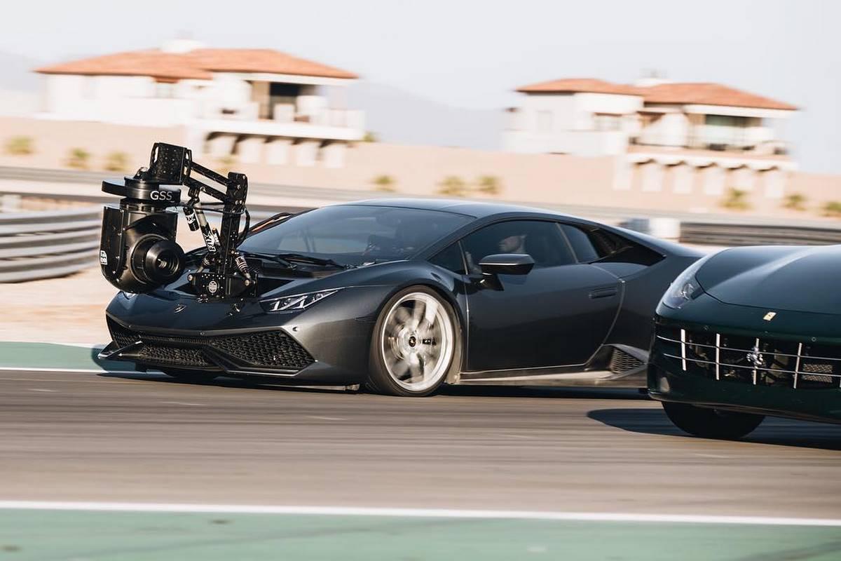 Lamborghini Huracam - Une Huracán transformée pour des prises de vue à haute vitesse