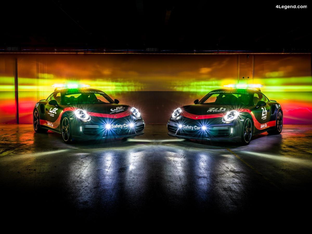 WEC - Porsche fournira des Safety cars et des véhicules d'intervention jusqu'en 2020