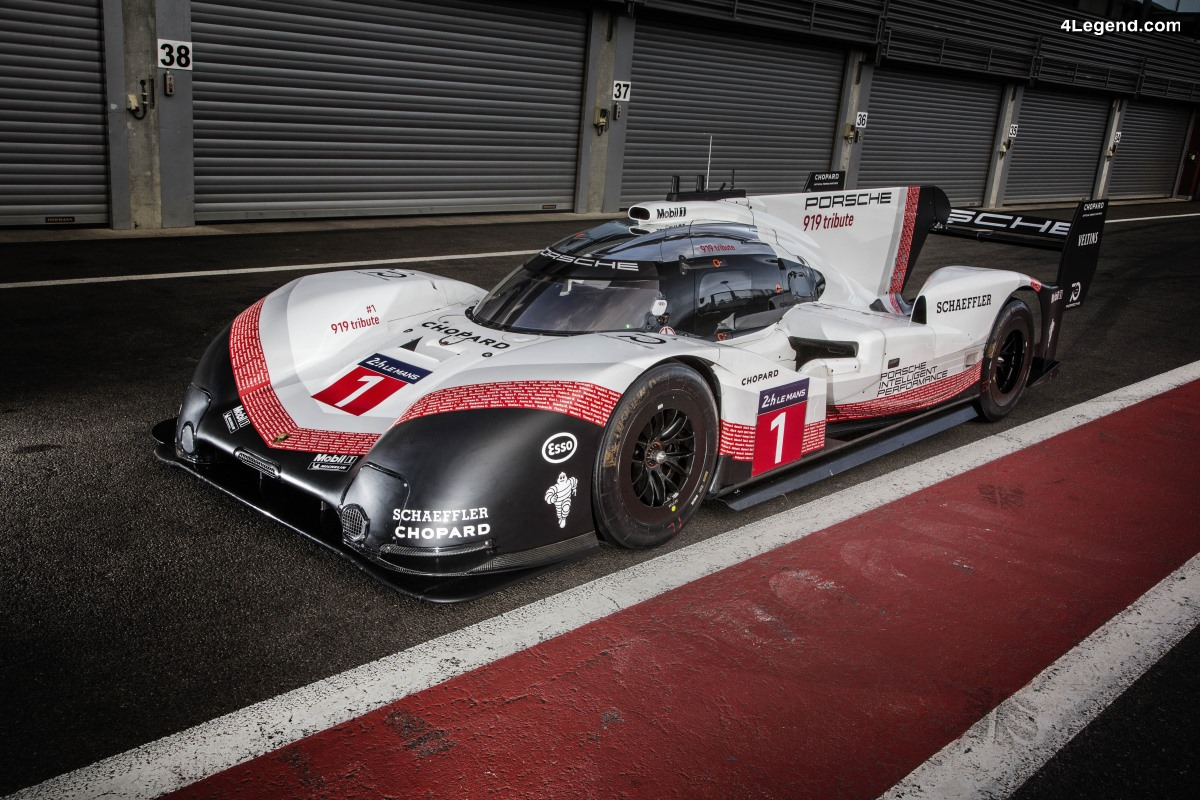 La Porsche 919 Hybrid Evo bat le record du tour à Spa-Francorchamps - Plus rapide qu'une Formule 1