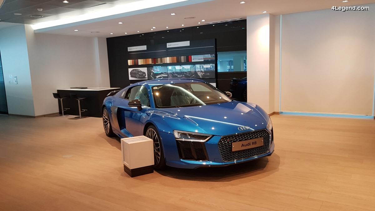 Visite d'Audi Haeundae - Une concession Audi à Busan en Corée du Sud